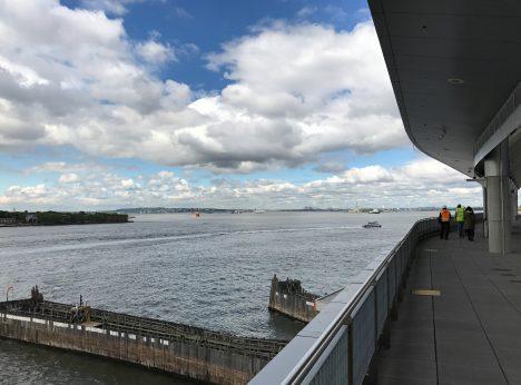 Staten Island Ferry City View